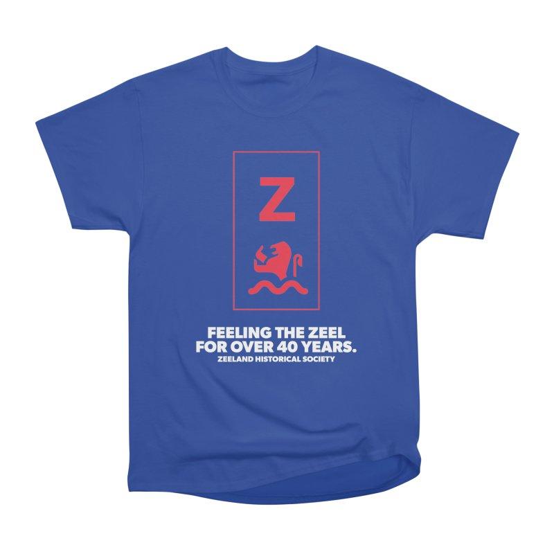 Feeling the Zeel (reversed) Women's Heavyweight Unisex T-Shirt by Zeeland Historical Society's Online Store