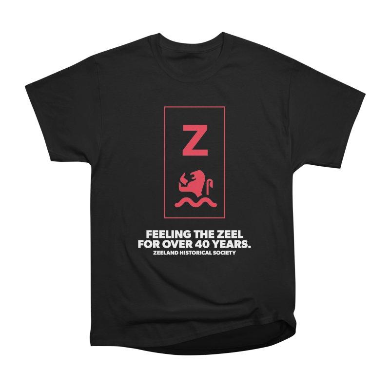 Feeling the Zeel (reversed) Men's Heavyweight T-Shirt by Zeeland Historical Society's Online Store