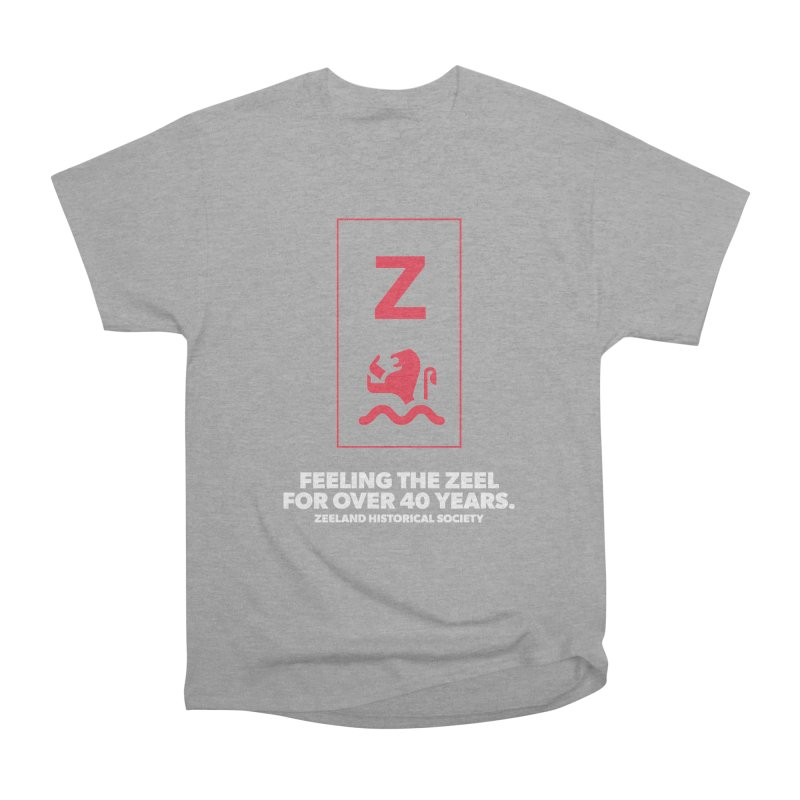Feeling the Zeel (reversed) Men's Heavyweight T-Shirt by Zeeland Historical Society's Online Store