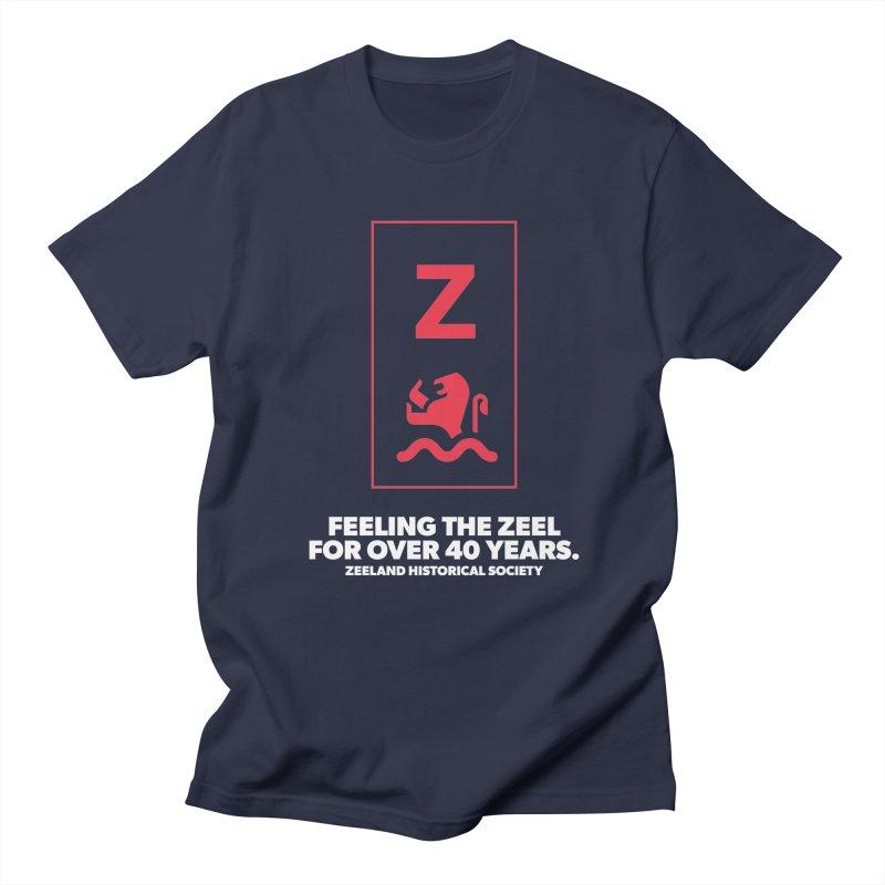 Feeling the Zeel (reversed) Men's Regular T-Shirt by Zeeland Historical Society's Online Store