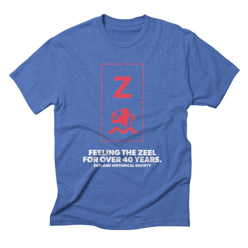 Feeling the Zeel (reversed) Men's Triblend T-Shirt by Zeeland Historical Society's Online Store