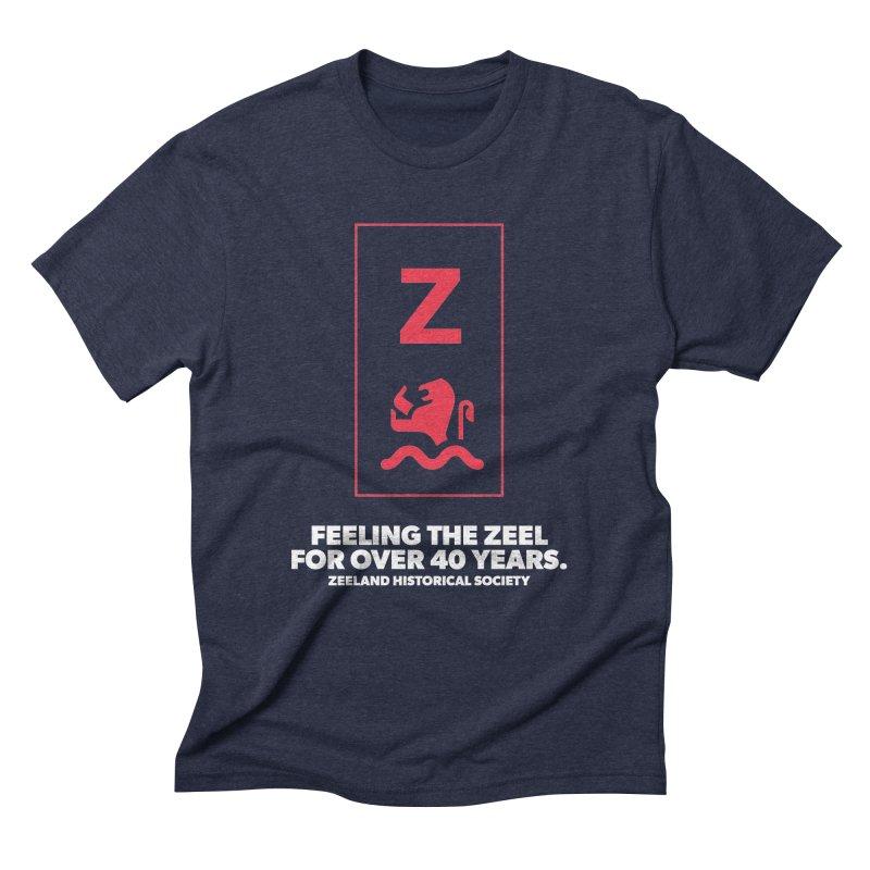 Feeling the Zeel (reversed) Men's Triblend T-Shirt by Zeeland Historical Society's Online Store