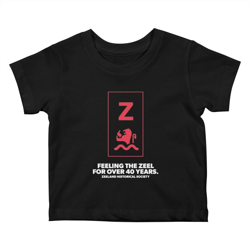 Feeling the Zeel (reversed) Kids Baby T-Shirt by Zeeland Historical Society's Online Store