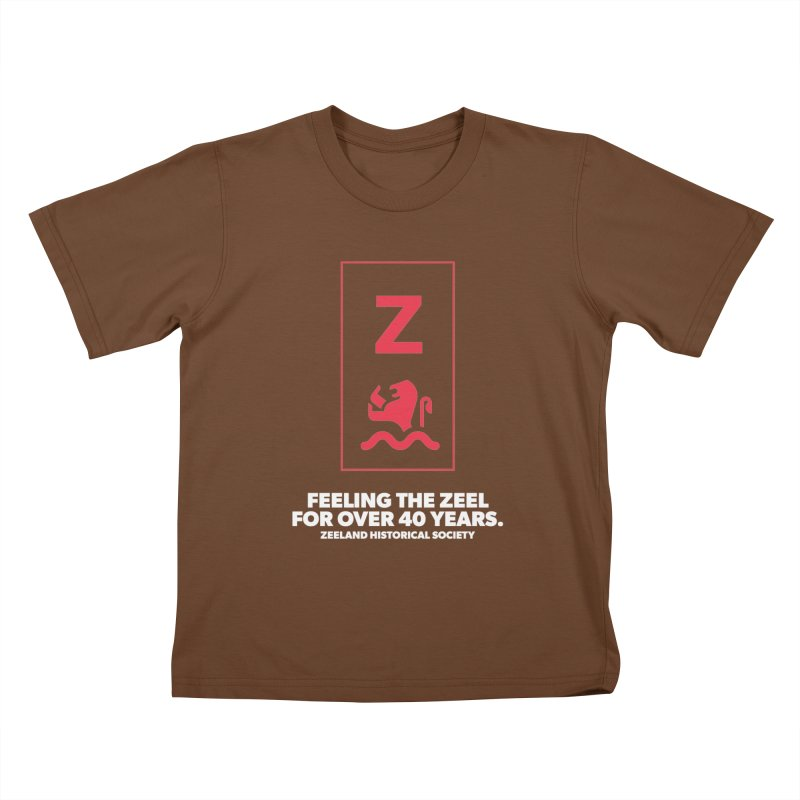 Feeling the Zeel (reversed) Kids T-Shirt by Zeeland Historical Society's Online Store