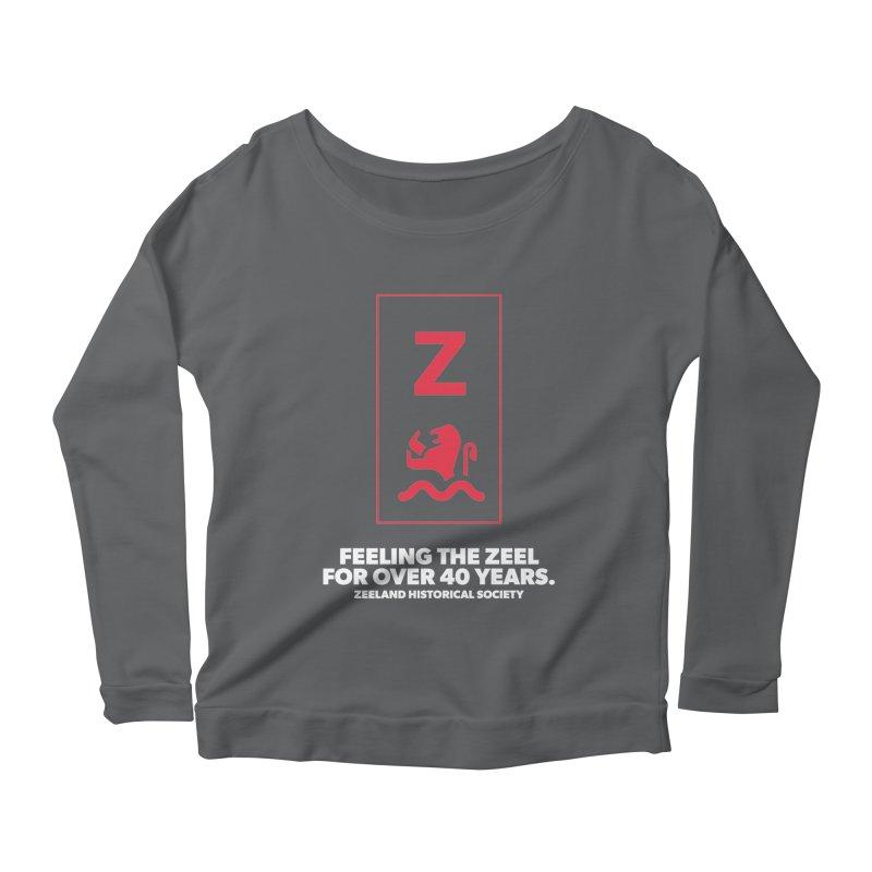 Feeling the Zeel (reversed) Women's Scoop Neck Longsleeve T-Shirt by Zeeland Historical Society's Online Store