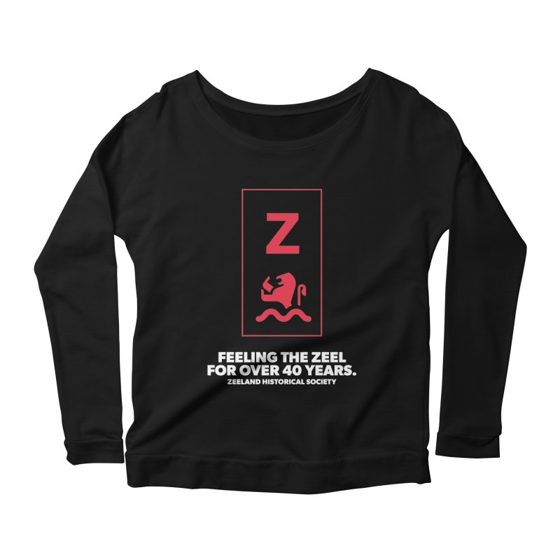Feeling the Zeel (reversed) Women's Scoop Neck Longsleeve T-Shirt by Zeeland Historical Society's Online Store