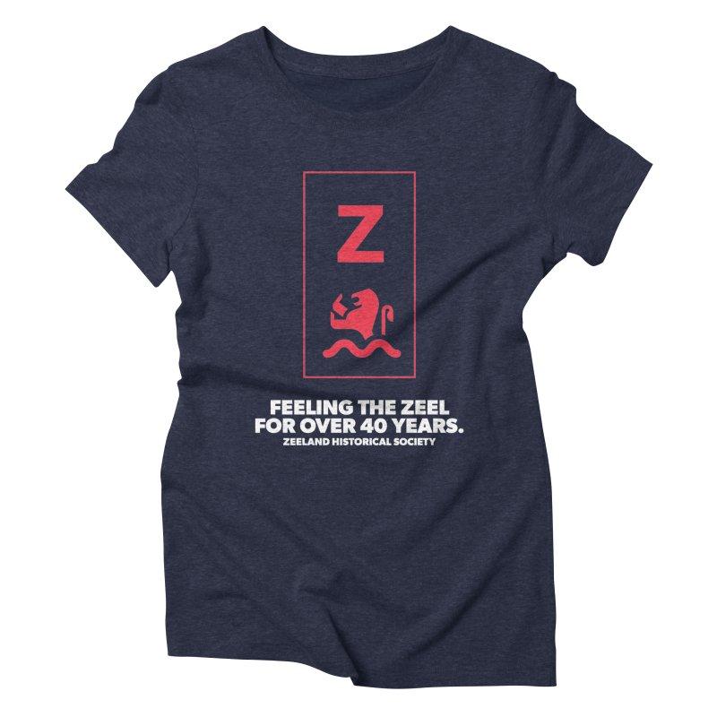 Feeling the Zeel (reversed) Women's Triblend T-Shirt by Zeeland Historical Society's Online Store