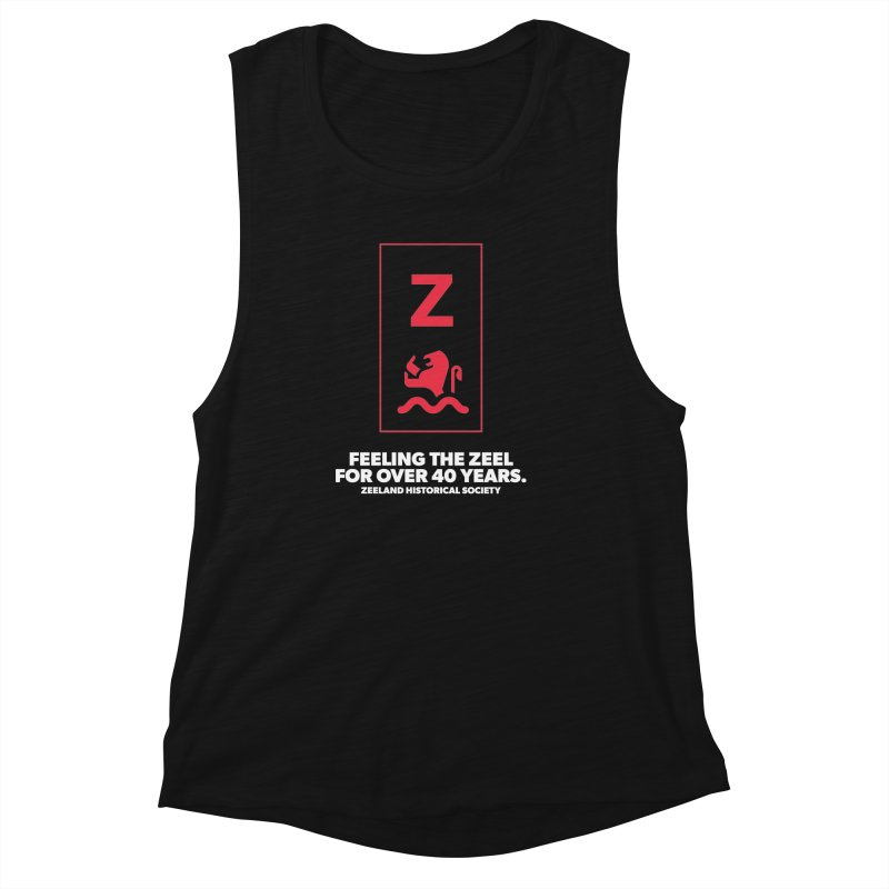 Feeling the Zeel (reversed) Women's Muscle Tank by Zeeland Historical Society's Online Store