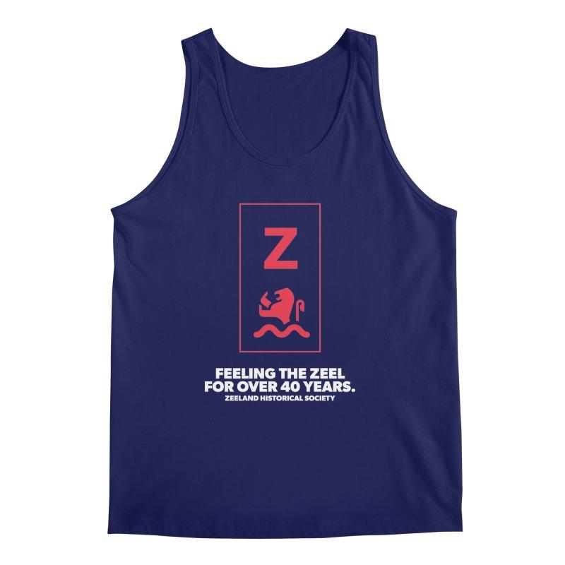 Feeling the Zeel (reversed) Men's Regular Tank by Zeeland Historical Society's Online Store