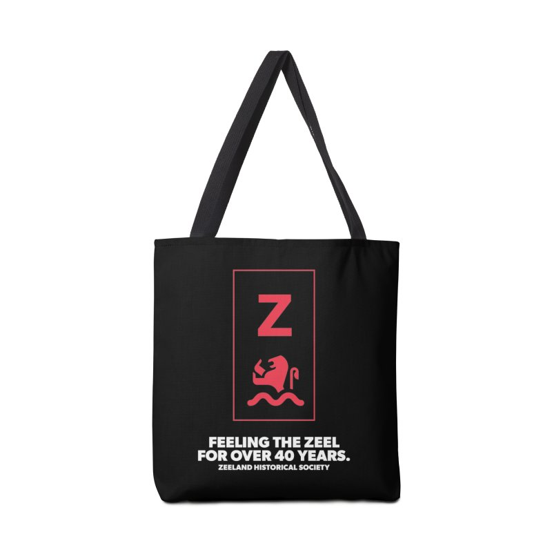 Feeling the Zeel (reversed) Accessories Bag by Zeeland Historical Society's Online Store