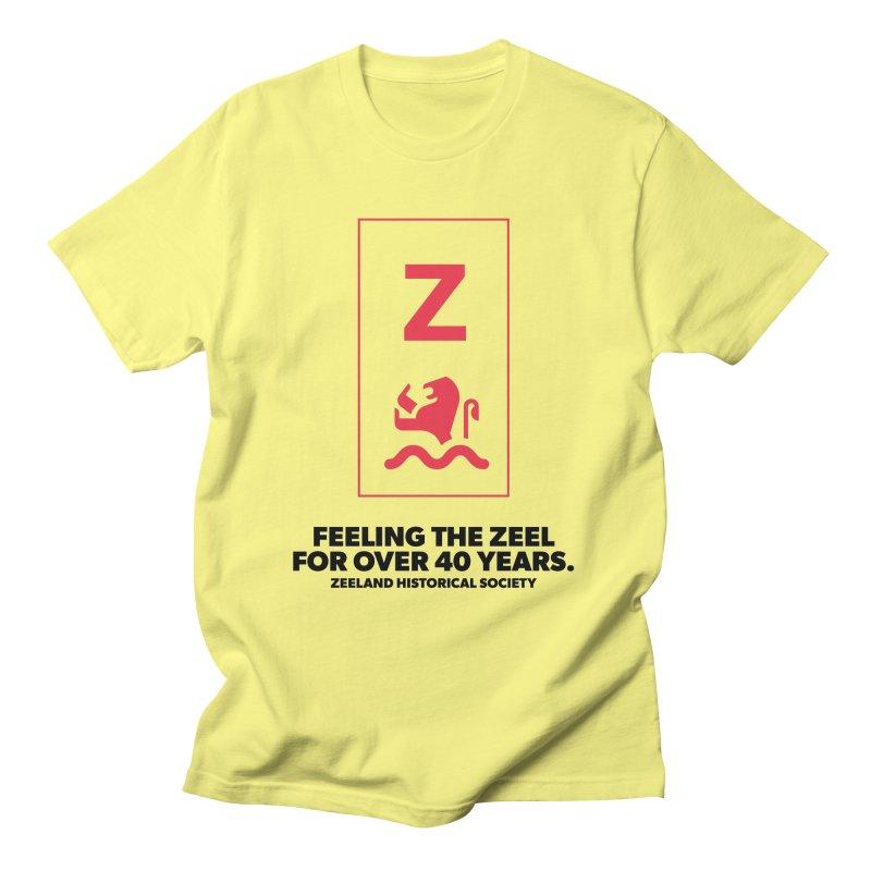 Feeling the Zeel Men's T-Shirt by Zeeland Historical Society's Online Store