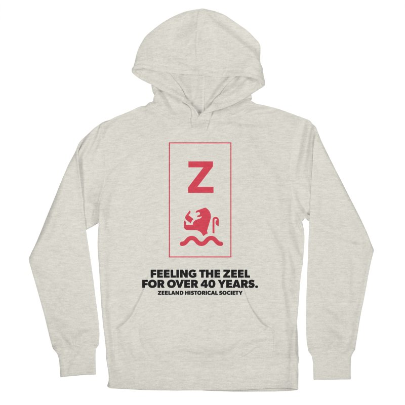 Feeling the Zeel Men's French Terry Pullover Hoody by Zeeland Historical Society's Online Store