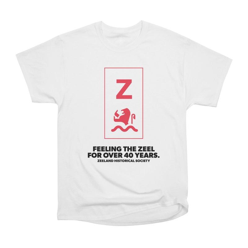 Feeling the Zeel Women's Heavyweight Unisex T-Shirt by Zeeland Historical Society's Online Store