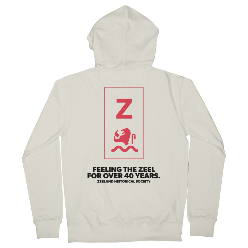 Feeling the Zeel Men's French Terry Zip-Up Hoody by Zeeland Historical Society's Online Store