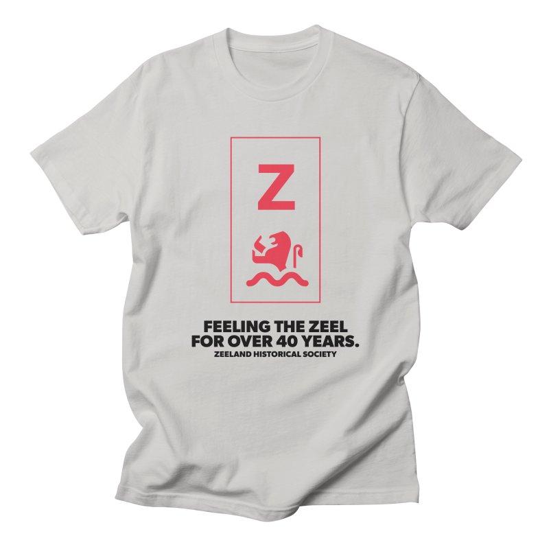 Feeling the Zeel Men's Regular T-Shirt by Zeeland Historical Society's Online Store