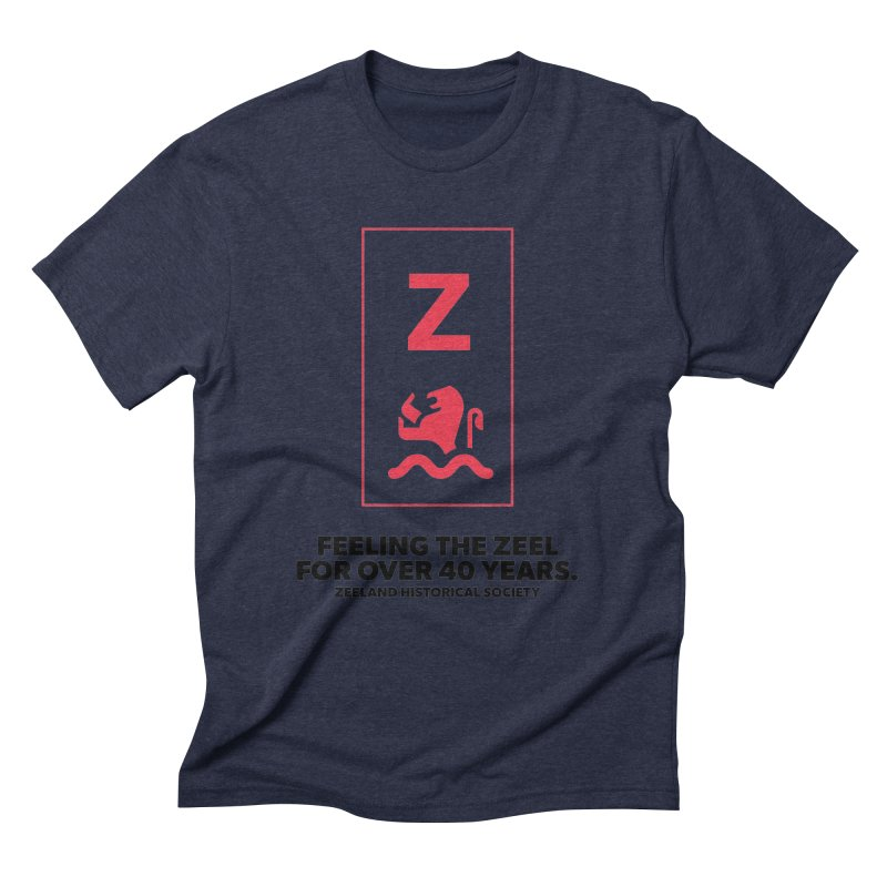 Feeling the Zeel Men's Triblend T-Shirt by Zeeland Historical Society's Online Store
