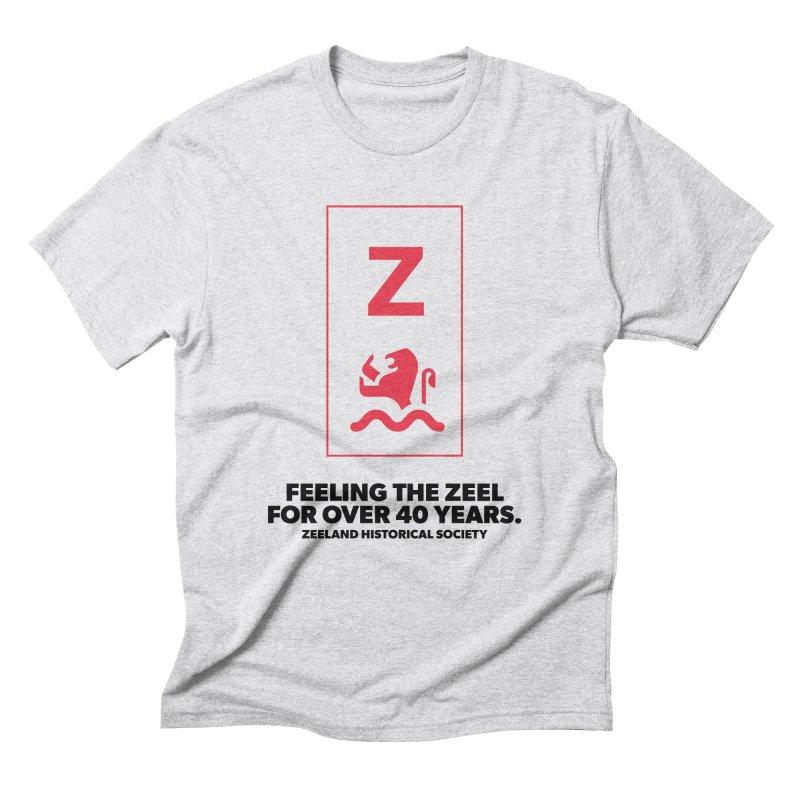 Feeling the Zeel Men's Triblend T-Shirt by Zeeland Historical Society's Online Store