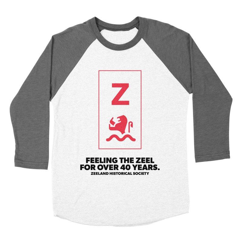 Feeling the Zeel Men's Baseball Triblend Longsleeve T-Shirt by Zeeland Historical Society's Online Store
