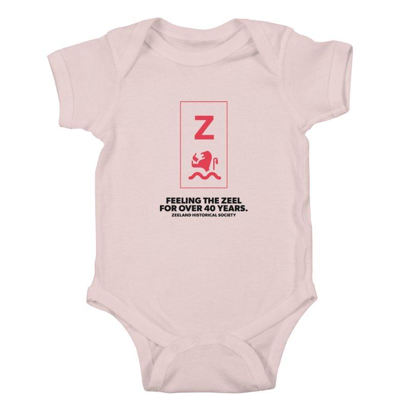 Feeling the Zeel Kids Baby Bodysuit by Zeeland Historical Society's Online Store