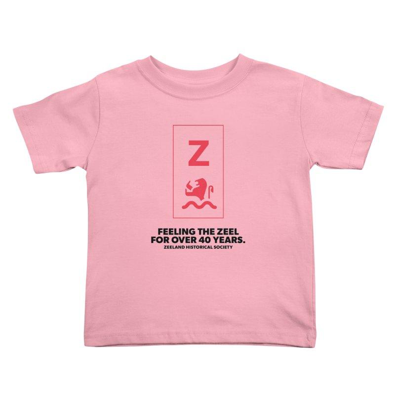 Feeling the Zeel Kids Toddler T-Shirt by Zeeland Historical Society's Online Store