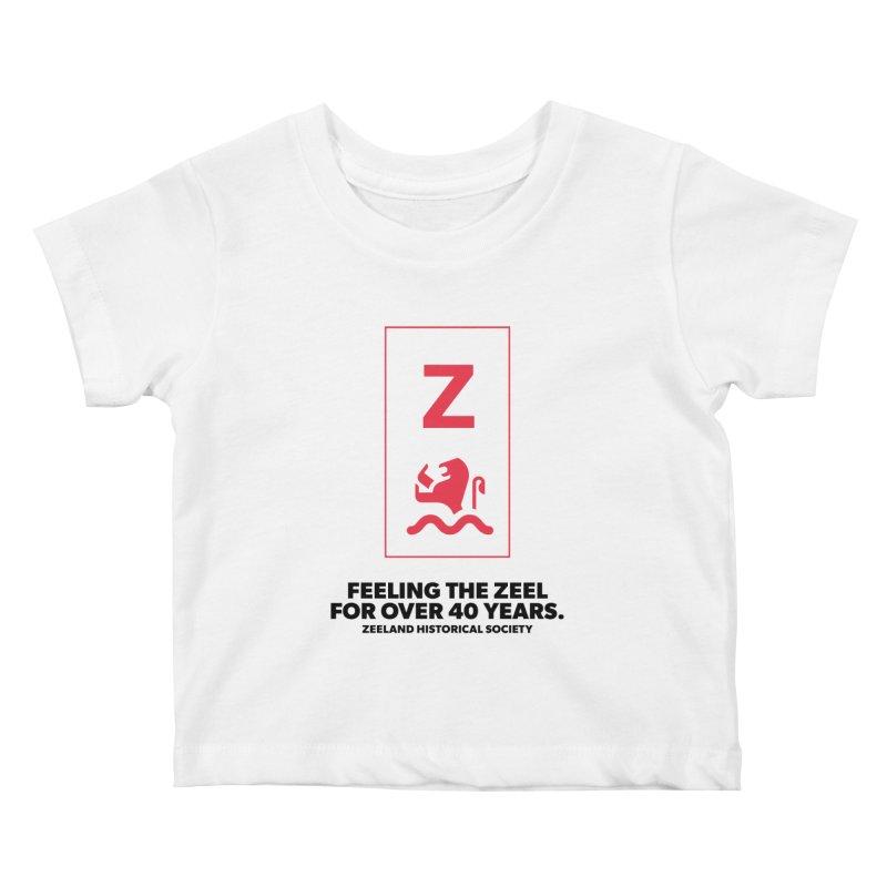 Feeling the Zeel Kids Baby T-Shirt by Zeeland Historical Society's Online Store