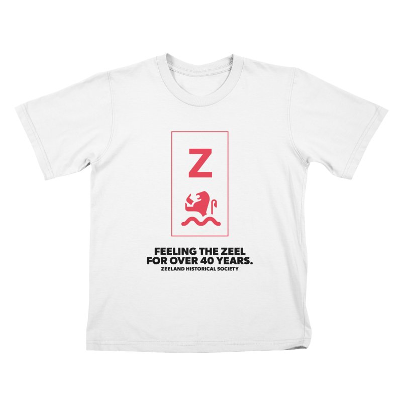 Feeling the Zeel Kids T-Shirt by Zeeland Historical Society's Online Store