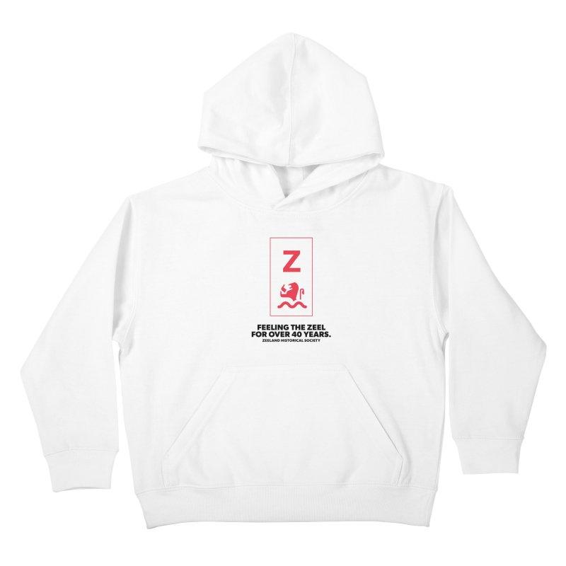 Feeling the Zeel Kids Pullover Hoody by Zeeland Historical Society's Online Store