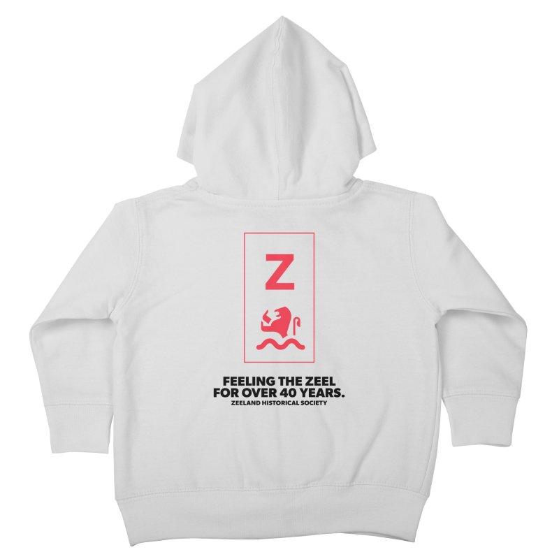 Feeling the Zeel Kids Toddler Zip-Up Hoody by Zeeland Historical Society's Online Store