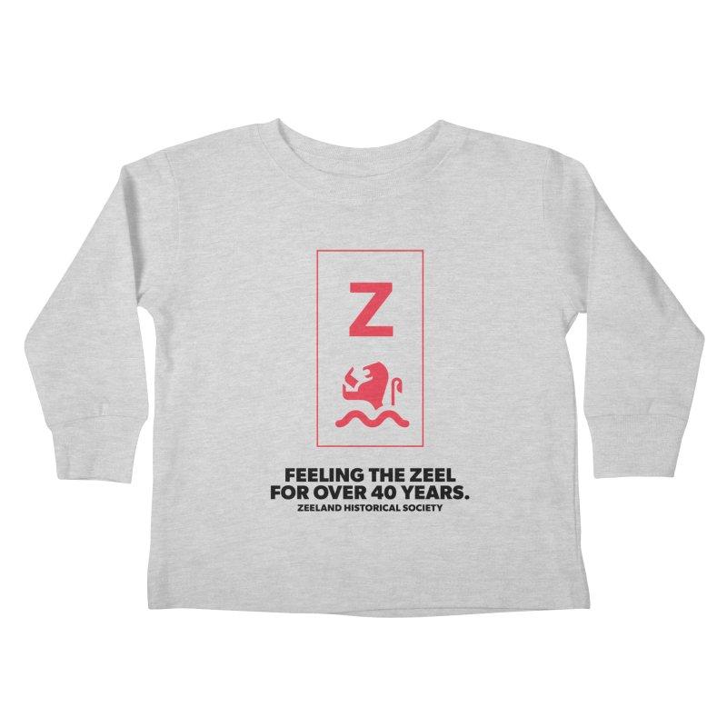 Feeling the Zeel Kids Toddler Longsleeve T-Shirt by Zeeland Historical Society's Online Store