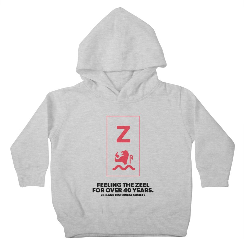 Feeling the Zeel Kids Toddler Pullover Hoody by Zeeland Historical Society's Online Store