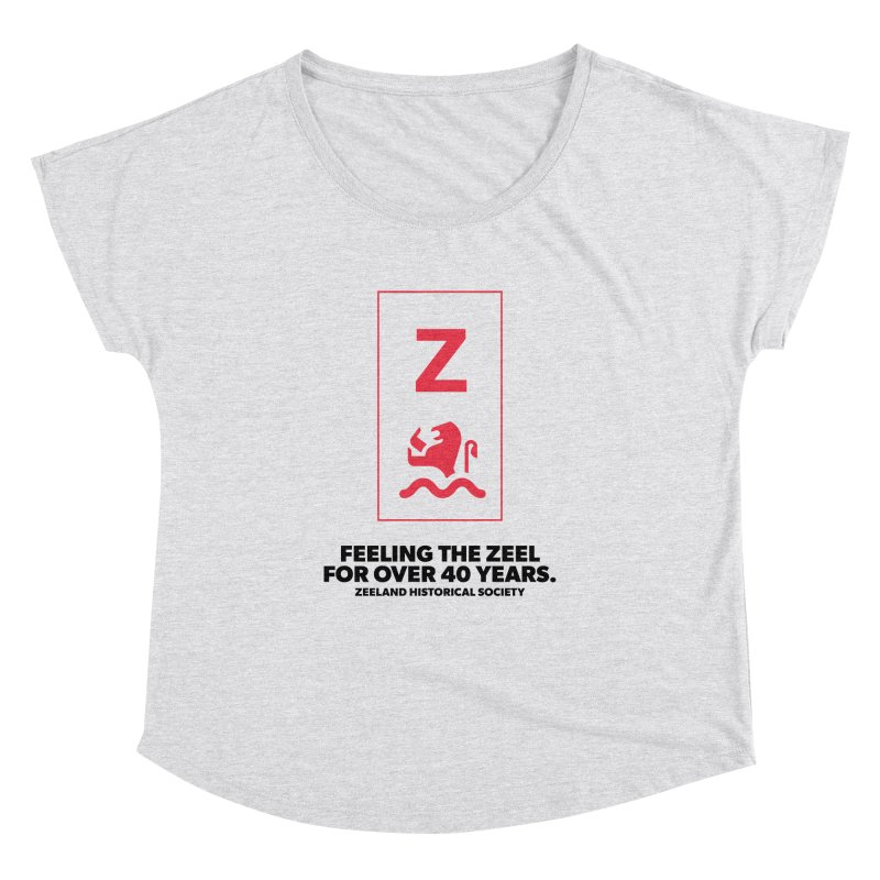 Feeling the Zeel Women's Dolman Scoop Neck by Zeeland Historical Society's Online Store