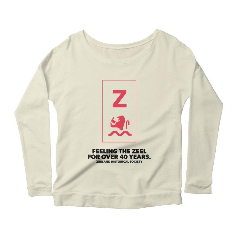 Feeling the Zeel Women's Scoop Neck Longsleeve T-Shirt by Zeeland Historical Society's Online Store