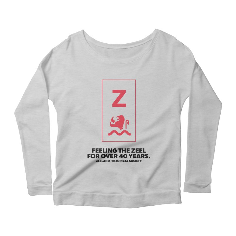 Feeling the Zeel Women's Scoop Neck Longsleeve T-Shirt by Zeeland Historical Society's Online Store