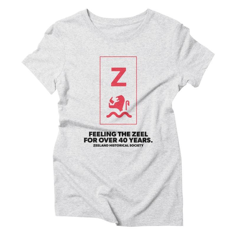 Feeling the Zeel Women's Triblend T-Shirt by Zeeland Historical Society's Online Store