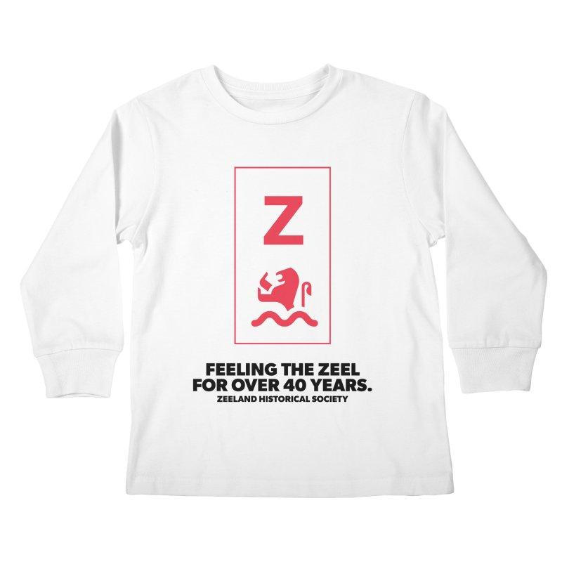 Feeling the Zeel Kids Longsleeve T-Shirt by Zeeland Historical Society's Online Store