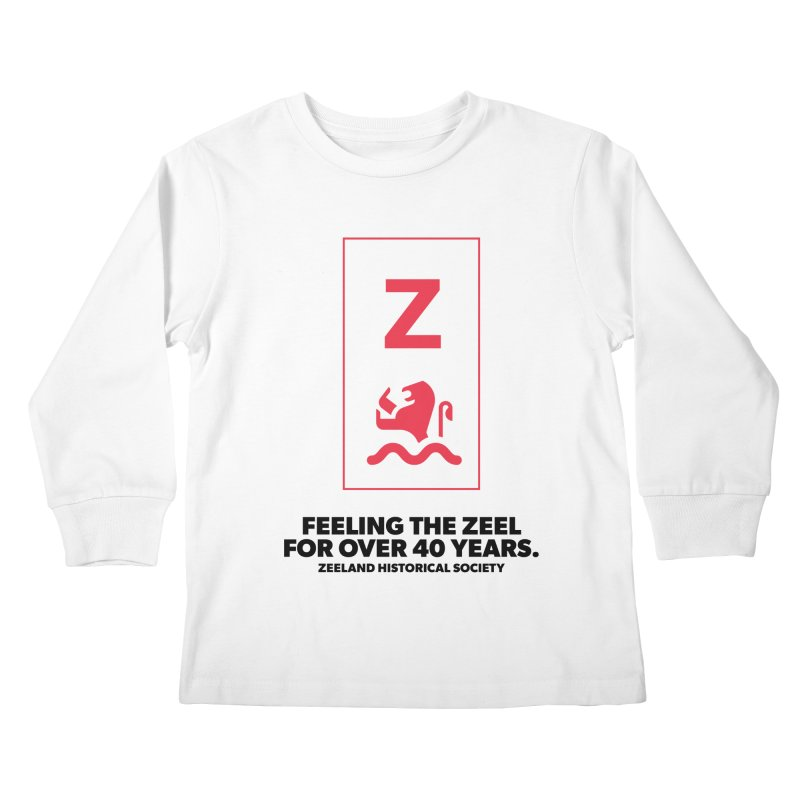Feeling the Zeel Kids Longsleeve T-Shirt by Zeeland Historical Society's Online Store