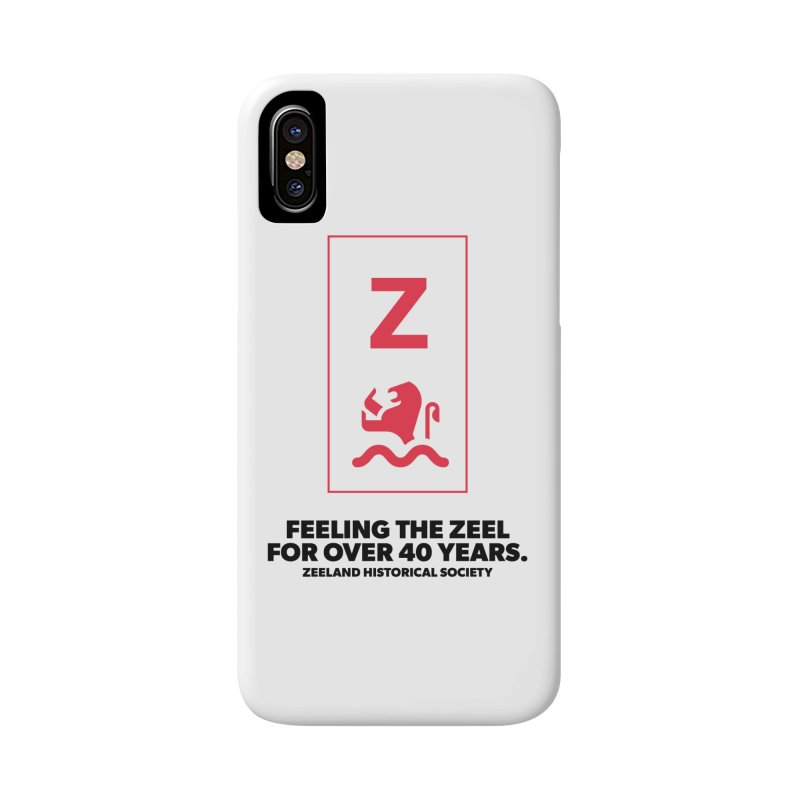 Feeling the Zeel Accessories Phone Case by Zeeland Historical Society's Online Store