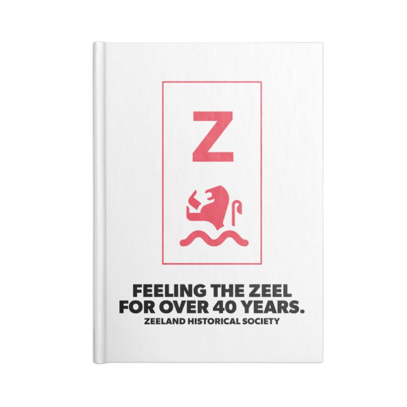 Feeling the Zeel Accessories Blank Journal Notebook by Zeeland Historical Society's Online Store