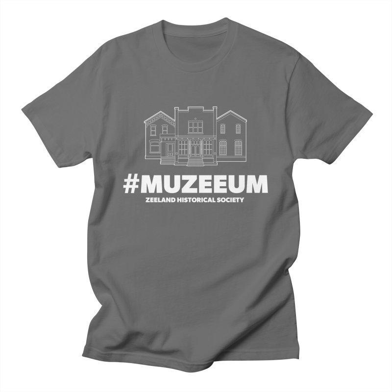 ZHS #muzeeum (reversed) Men's T-Shirt by Zeeland Historical Society's Online Store