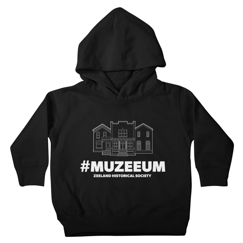 ZHS #muzeeum (reversed) Kids Toddler Pullover Hoody by Zeeland Historical Society's Online Store