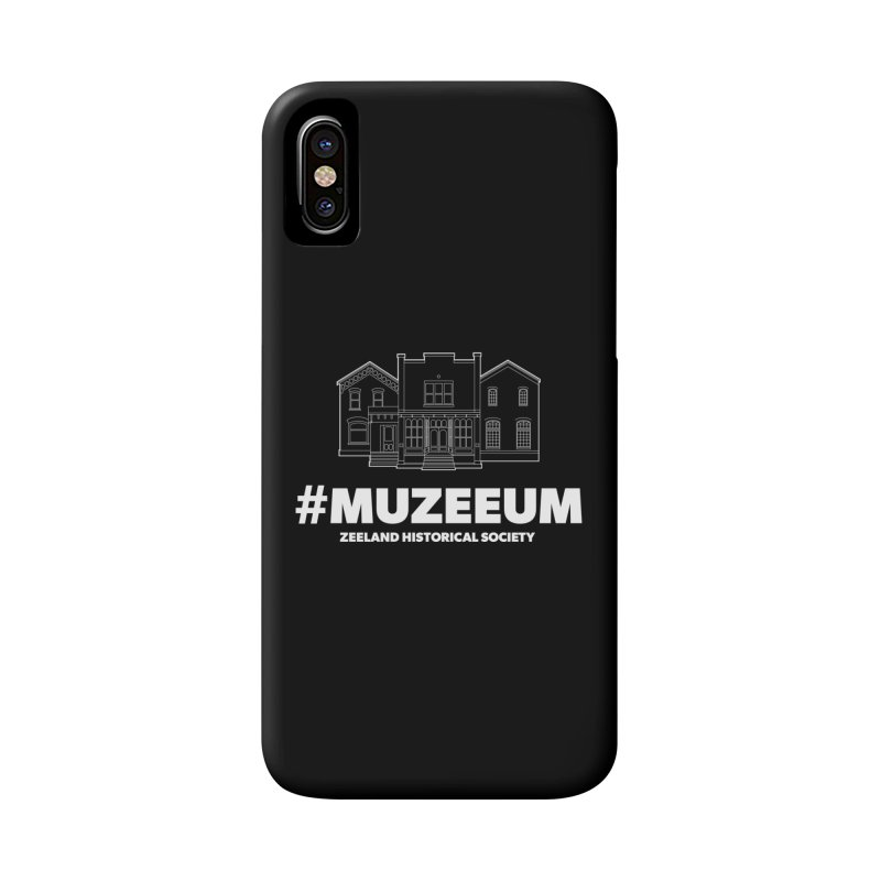 ZHS #muzeeum (reversed) Accessories Phone Case by Zeeland Historical Society's Online Store