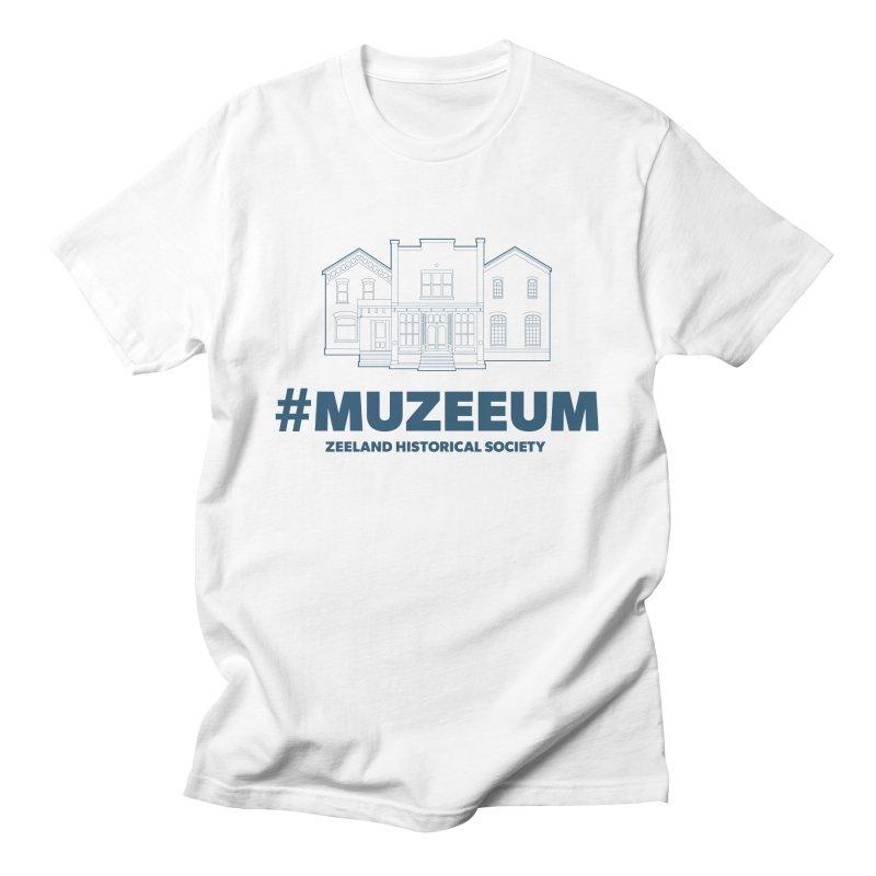 ZHS #muzeeum Men's T-Shirt by Zeeland Historical Society's Online Store
