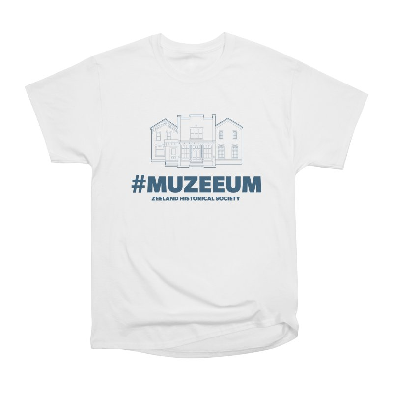 ZHS #muzeeum Men's Heavyweight T-Shirt by Zeeland Historical Society's Online Store