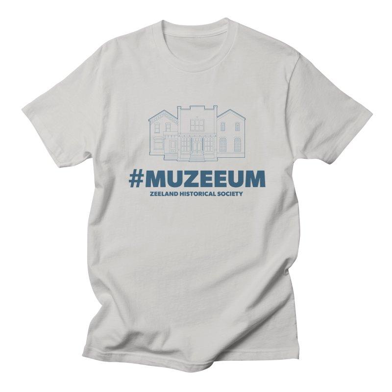 ZHS #muzeeum Women's Regular Unisex T-Shirt by Zeeland Historical Society's Online Store