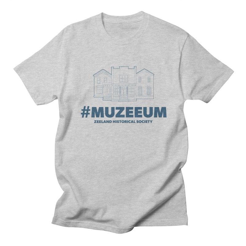 ZHS #muzeeum Men's Regular T-Shirt by Zeeland Historical Society's Online Store