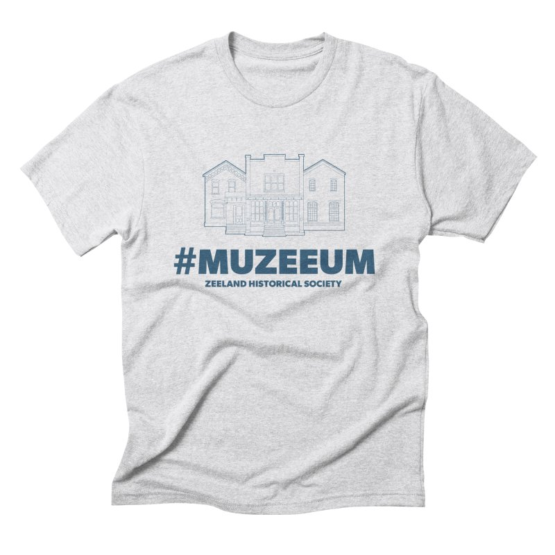 ZHS #muzeeum Men's Triblend T-Shirt by Zeeland Historical Society's Online Store
