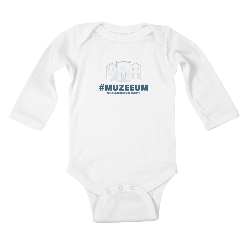 ZHS #muzeeum Kids Baby Longsleeve Bodysuit by Zeeland Historical Society's Online Store