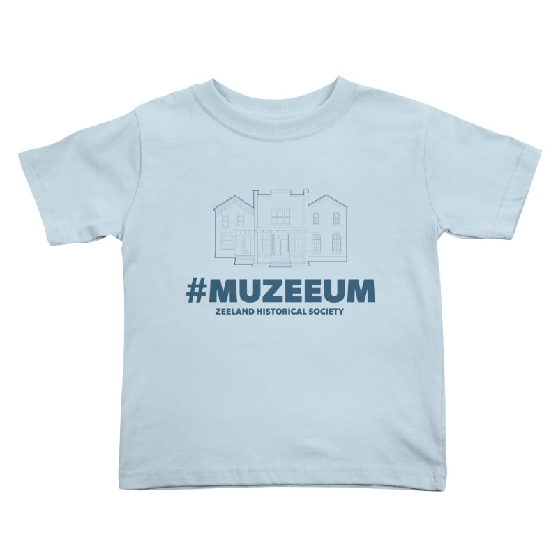 ZHS #muzeeum Kids Toddler T-Shirt by Zeeland Historical Society's Online Store