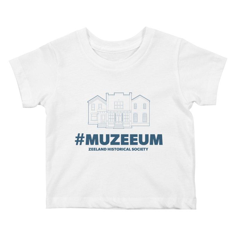 ZHS #muzeeum Kids Baby T-Shirt by Zeeland Historical Society's Online Store