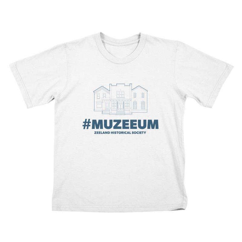 ZHS #muzeeum Kids T-Shirt by Zeeland Historical Society's Online Store
